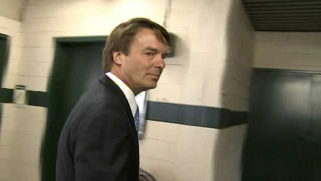 PHOTO: A federal grand jury has indicted John Edwards over massive sums of money spent to keep his mistress in hiding during the peak of his 2008 campaign for the White House.