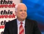 PHOTO: Sen John McCain (R) Arizona on This Week