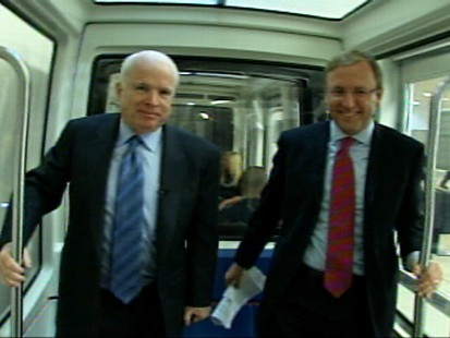 Video of Senator John McCain on the Subway Series with Jonathan Karl.