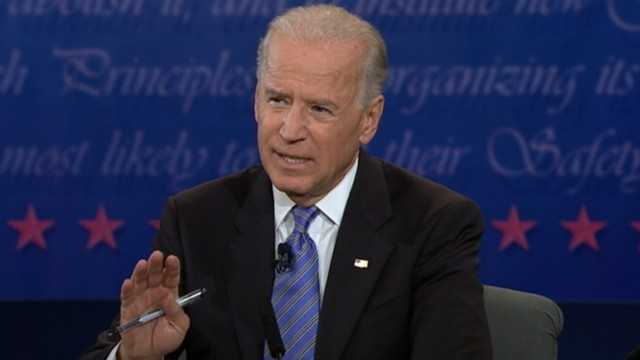 """VIDEO: Vice president to Romney and Ryan: """"stop talking and show me a policy."""""""