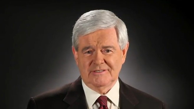 VIDEO: Newt Gingrich releases Tweet and video message posted on YouTube.