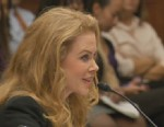 Video of Actress Nicole Kidman addressing Congress on the issue of female violence.