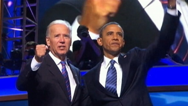 VIDEO: The president won a second term after defeating GOP candidate Mitt Romney.