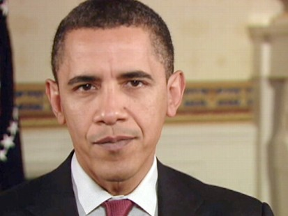 "VIDEO: The president says ""we have to act now"" to hold insurance companies accountable."