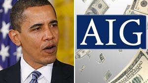 Photo: Obamas Outrage: President Wants Treasury to Block to AIG Bonuses