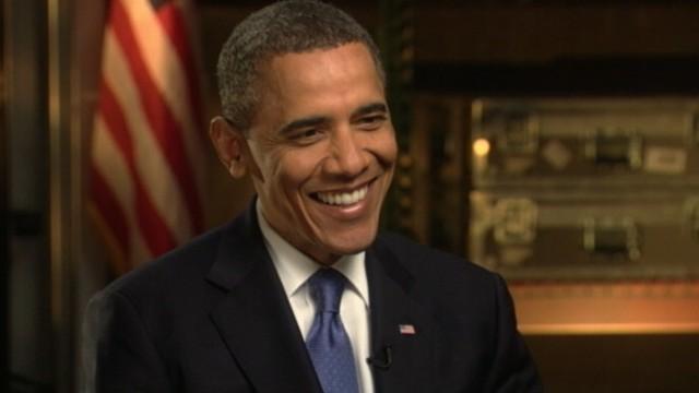 "VIDEO: President Obama denies being ""tense"" in encounter with Arizona Gov. Jan Brewer."