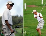 PHOTO Obama is shown playing golf in Hawaii