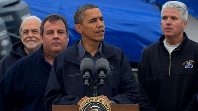 VIDEO: President Obama Speaks About Hurricane Relief From New Jersey