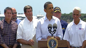 President Obama Tours Gulf Coast: The Buck Stops With Me