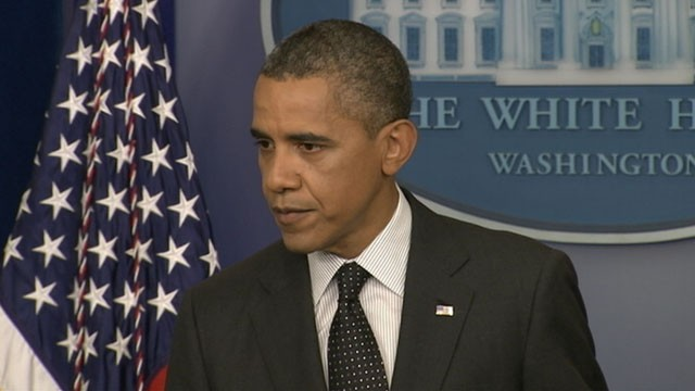 VIDEO: President Obama says a 'red line' on dealing with Syria would be use of chemical weapons.