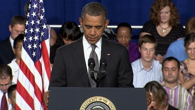VIDEO: President Obama comments on Colorado movie theater shooting.