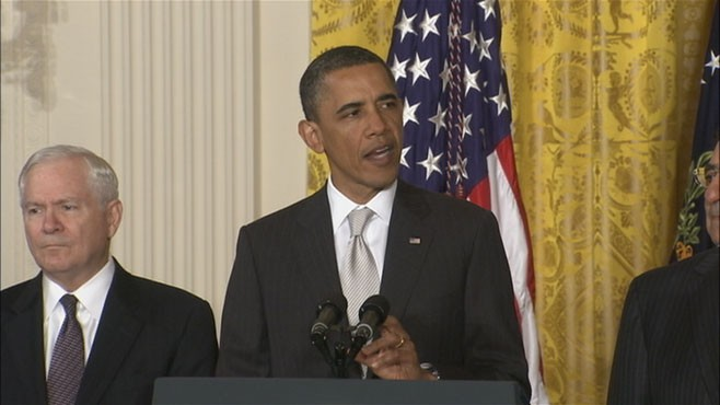 VIDEO: The president offers federal assistance and will travel to Alabama.