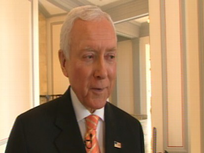 Video of Senator Orrin Hatch calling President Obamas comments on SCOTUS pathetic.