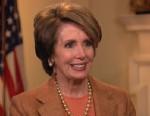 PHOTO: House Minority Leader Nancy Pelosi on spoke on ABC This Week