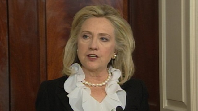VIDEO: Sec. Clinton: Time for Assad to Get Out of the Way