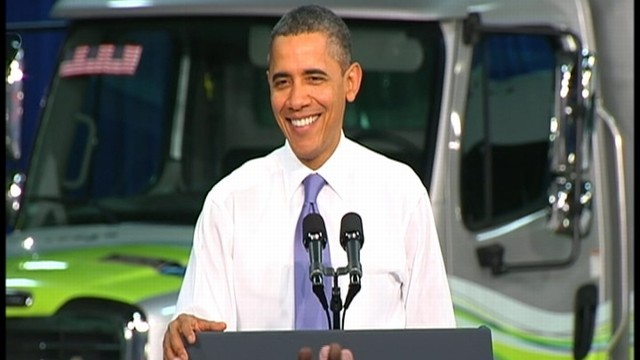 VIDEO: Obama: Governments Vehicles Use Alternative Fuels