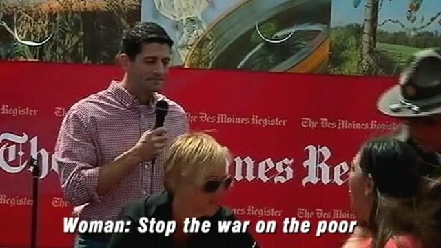 VIDEO: Paul Ryan Heckled at Iowa State Fair