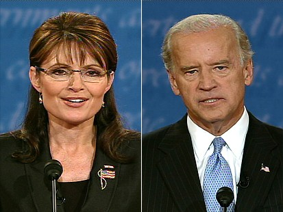 Gov. Palin and Sen. Biden