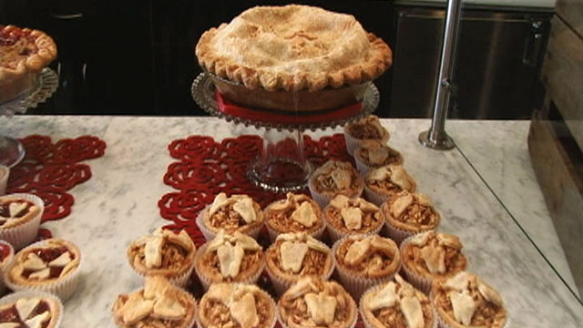 PHOTO: Presidential candidates, from President Obama to Michele Bachmann, have talked about their love of pies on the campaign trail. Pictured are pies from the Pie Sisters, a pie shop owned by the Blakely sisters in Washington, D.C.