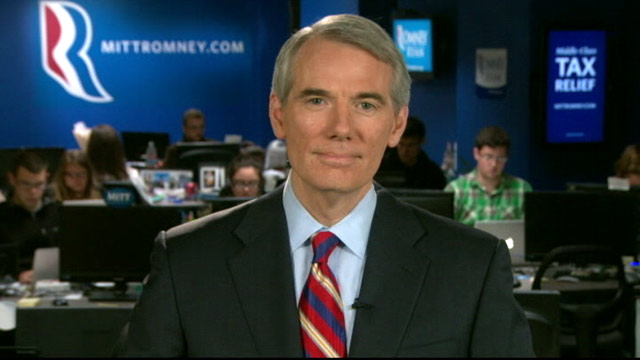 PHOTO: Sen Rob Portman on 'This Week'