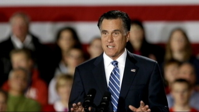 VIDEO: Romney says the former president told him that Hurricane Sandy benefitted President Obama.
