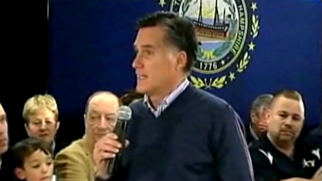 VIDEO: Romney tells voters youll have a job with him, not with President Obama.