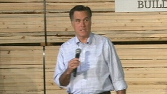 VIDEO: Mitt Romeny declines to discuss church doctrine at event in Howard, Wisconsin.