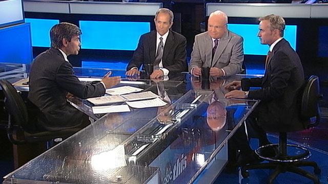 PHOTO: ABC News Legal Analyst Dan Abrams, ABC News Consultant and former White House Counterterrorism Adviser Richard Clarke, ABC News Consultant and former FBI Agent Brad Garrett on This Week