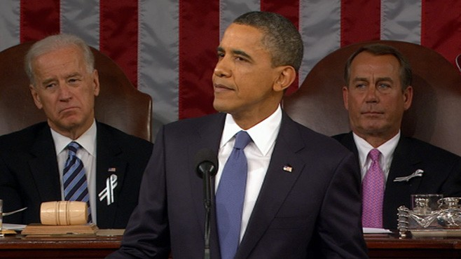 VIDEO: President Obama proposes investing in high-speed rail and Internet services.