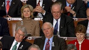PHOTO: Senators at the State of the Union