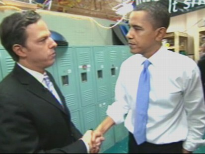 Video of Jake Tappers exclusive interview with the president in Ohio.