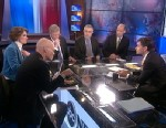 PHOTO: ABC News George Will, Republican Strategist Mary Matalin, Democratic Strategist James Carville, Political Strategist and ABC News Political Analyst Matthew Dowd, and The New York Times Columnist and Nobel Prize-Winning Economist Paul Krugman
