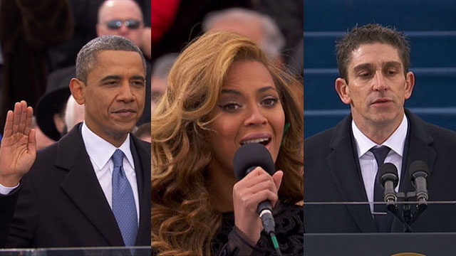 VIDEO: Coverage from President Obamas second inauguration ceremony.