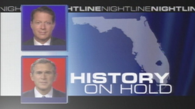 VIDEO: George W. Bush is elected in 2000.