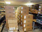 PHOTO: Closet of unused routers