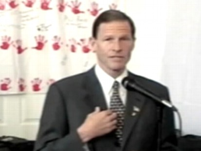 VIDEO: Richard Blumenthal denies report that he misstated his service in Vietnam.