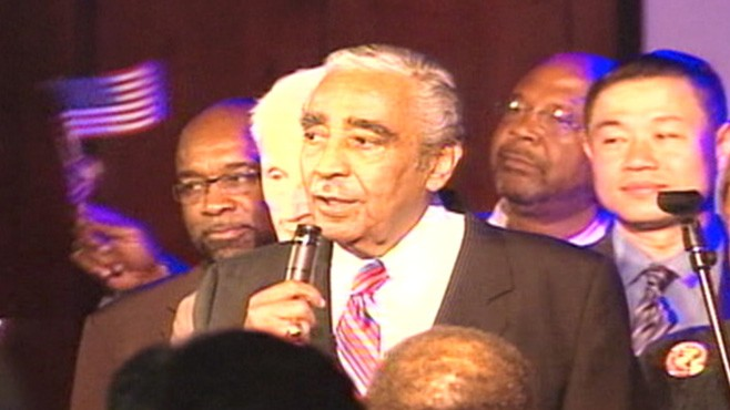 VIDEO: Charles Rangel defeats Adam Clayton Powell IV in primary.