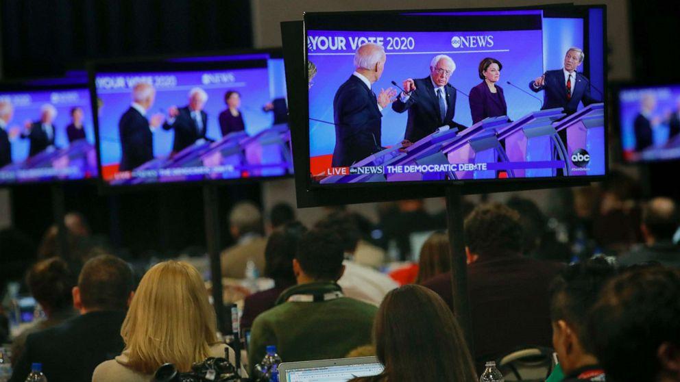 democratic debate 2020 live