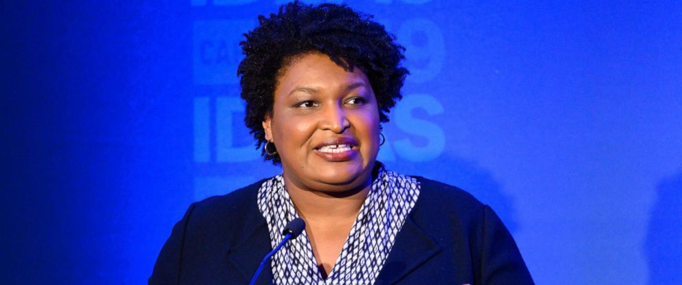 PHOTO: Stacey Abrams, Founder, Fair Fight Action, speaking at The Center for American Progress CAP 2019 Ideas Conference.