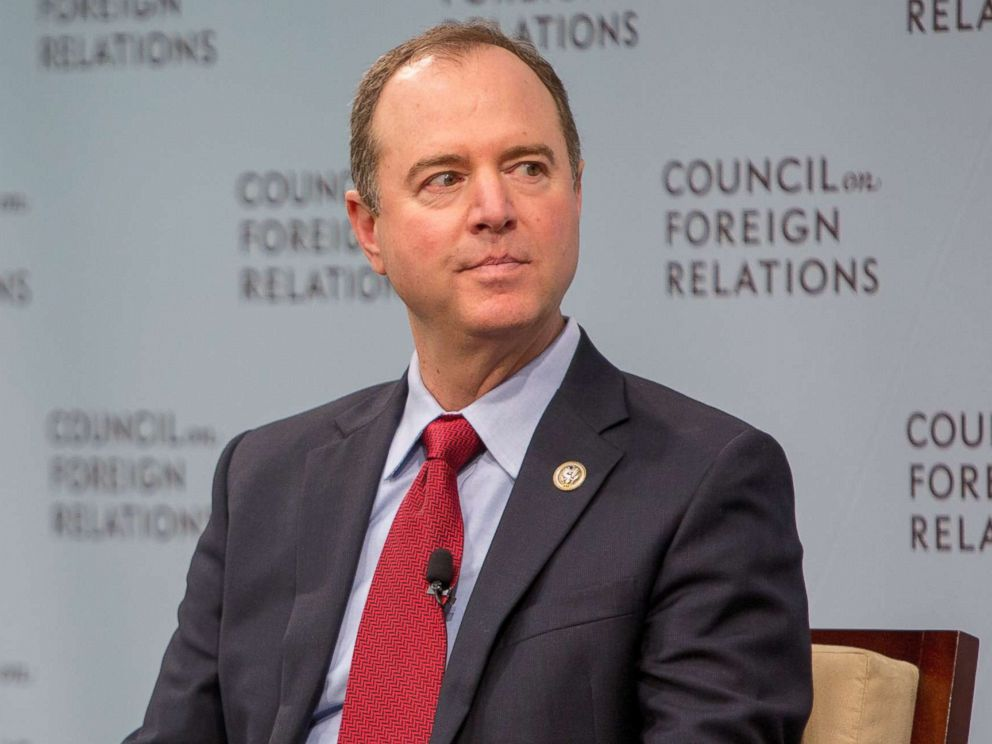 PHOTO: House Intelligence Ranking Member Adam Schiff speaks at the Council on Foreign Relations, Feb. 16, 2018 in Washington, D.C.