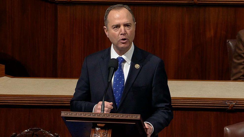 Trump Amtsenthebung Stimmen live-updates: Schiff macht Fall auf dem House-floor