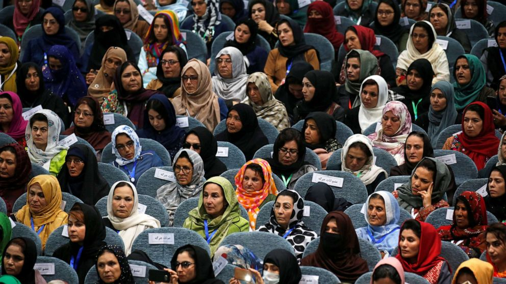 Afghan female leaders urge Trump administration to support them in Taliban talks thumbnail