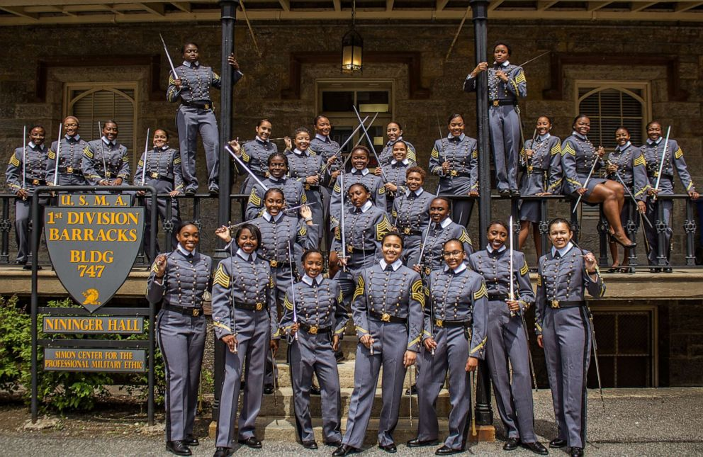PHOTO: West Points 2019 graduating class will include the most African-American female cadets in the schools history.