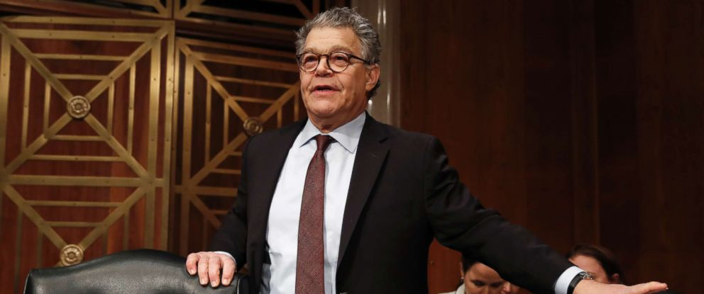 PHOTO: Senate Health, Education, Labor and Pensions Committee member Sen. Al Franken, D-Minn., arrives at a Senate Health, Education, Labor and Pensions Committee hearing on Capitol Hill, Nov. 29, 2017, in Washington.