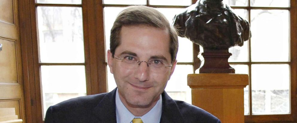 PHOTO: Alex Azar, seen here when he was Deputy Secretary of Health and Human Services on Feb. 6, 2006, is President Donald Trumps pick to head the Department of Health and Human Services, replacing Tom Price.