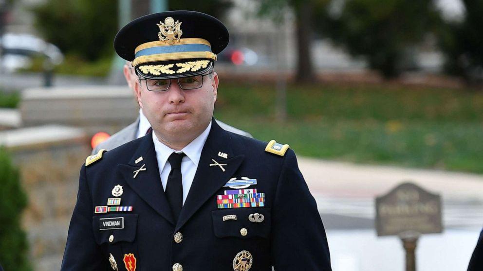 2 die nationale Sicherheit Adjutanten, der äußerte Bedenken, Trump Aufruf zum erscheinen auf einem Hügel