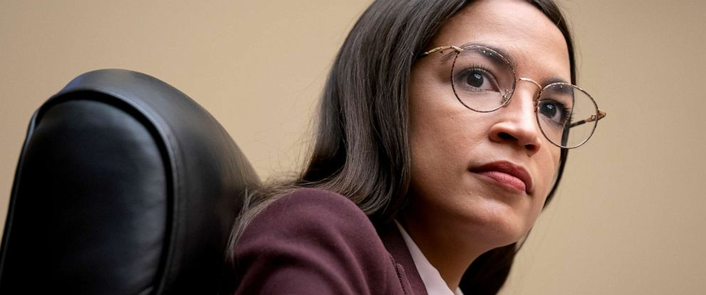 PHOTO: Rep. Alexandria Ocasio-Cortez attends a House Oversight Committee hearing on high prescription drugs prices on Capitol Hill in Washington, July 26, 2019.