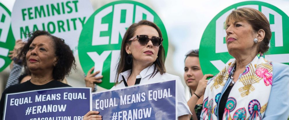 actress alyssa milano lawmakers make new push for equal rights