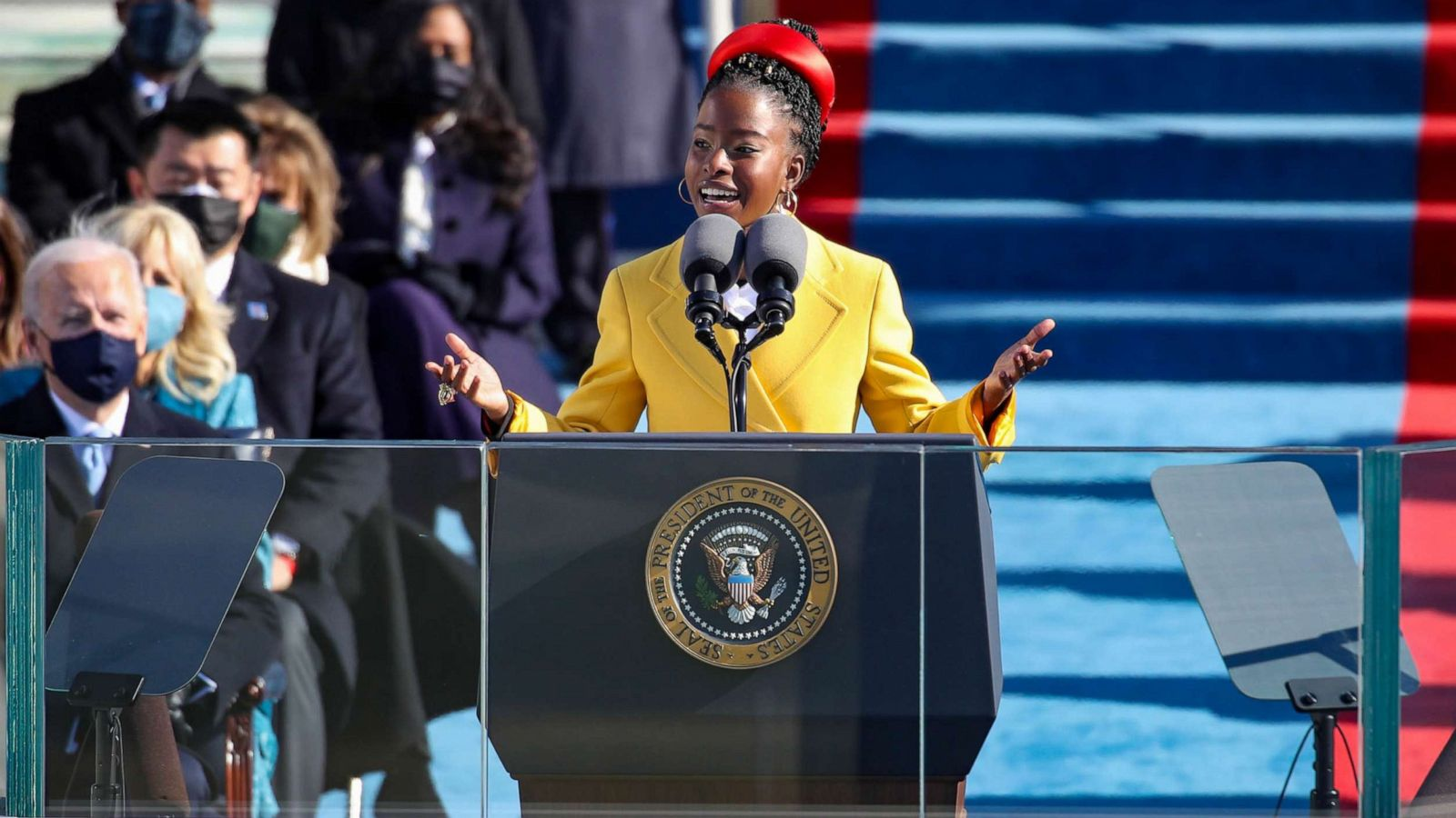 22-year-old Amanda Gorman becomes youngest poet to read at inauguration -  ABC News