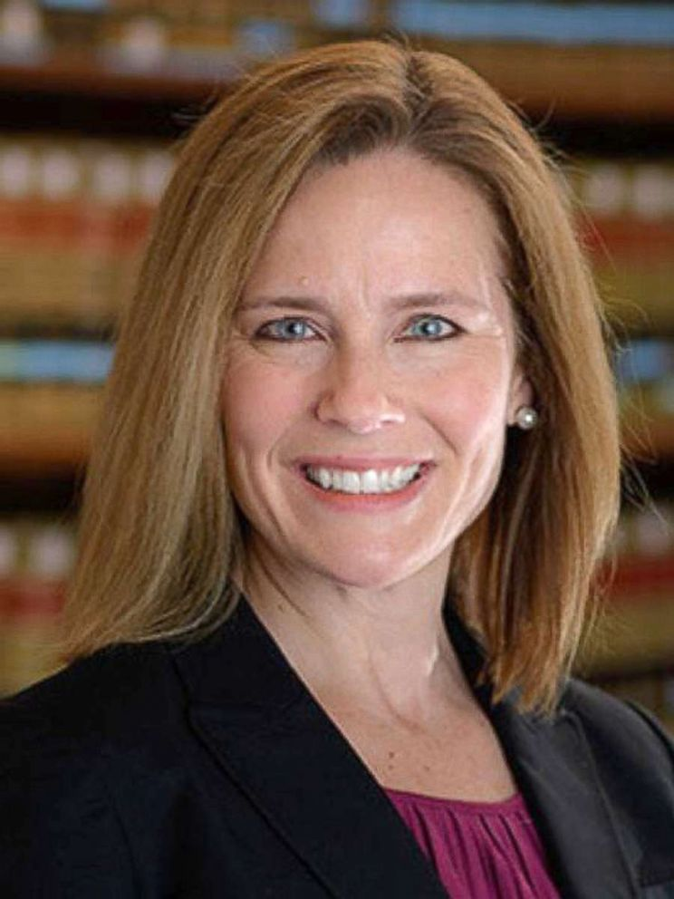 PHOTO: Amy Coney Barrett seen in this undated file photo.
